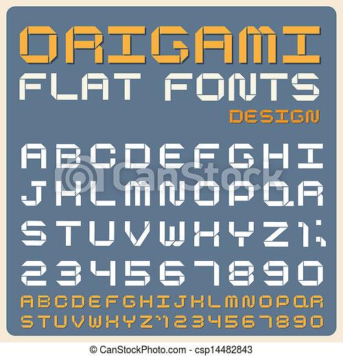 Retro type font, vintage typography . - csp14482843