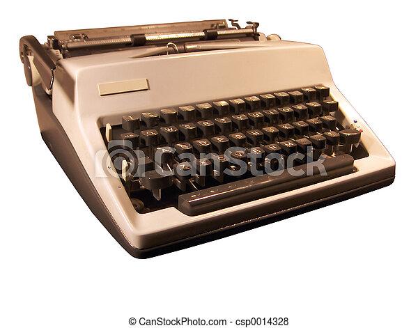 Retro Typewriter - csp0014328