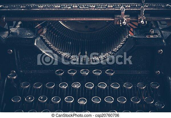 Retro Typewriter - csp20760706