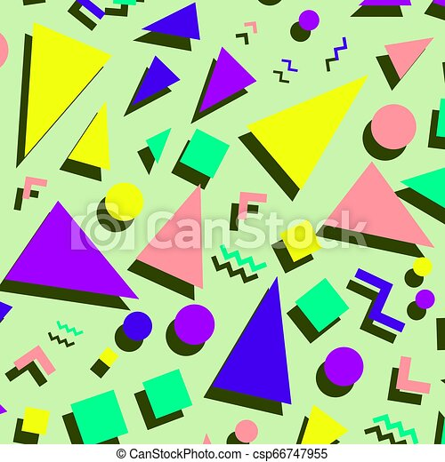 Retro Vintage 80s Or 90s Fashion Style Abstract Pattern Background