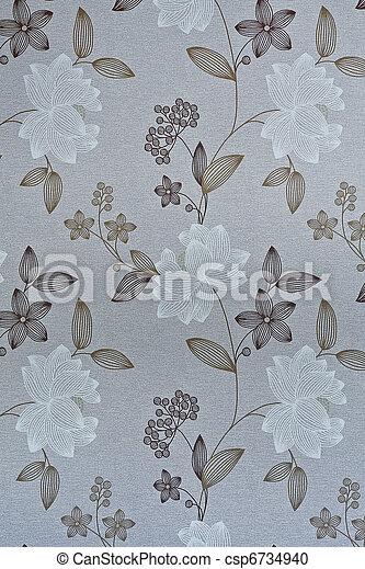 Retro / vintage wallpaper or backgr - csp6734940