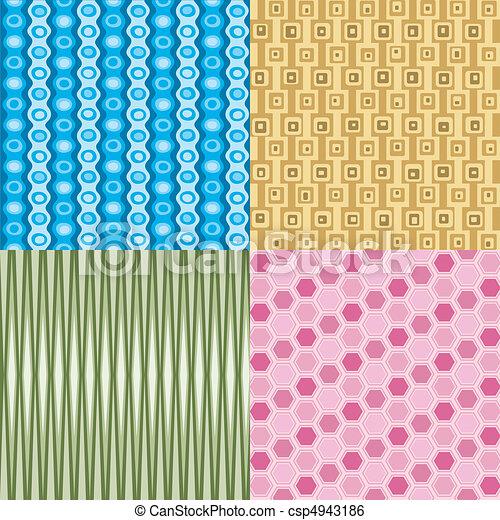 Retro Wallpaper - csp4943186