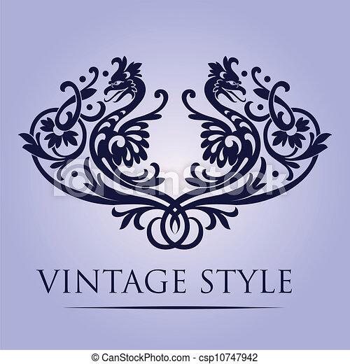 retro wallpaper - csp10747942