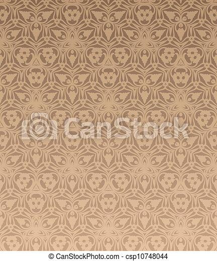 retro wallpaper - csp10748044