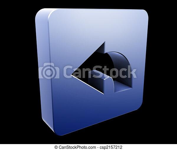 Return navigation icon - csp2157212