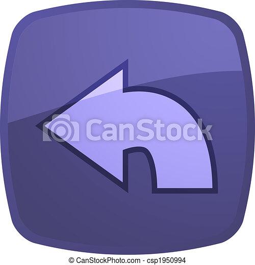 Return navigation icon - csp1950994