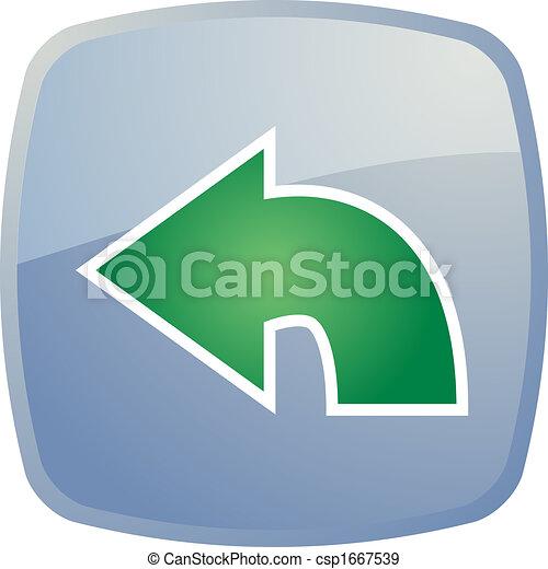 Return navigation icon - csp1667539