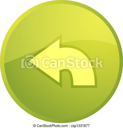 Return navigation icon - csp1331877