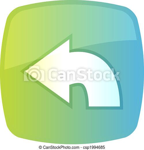 Return navigation icon - csp1994685