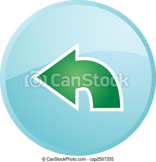 Return navigation icon - csp2507355