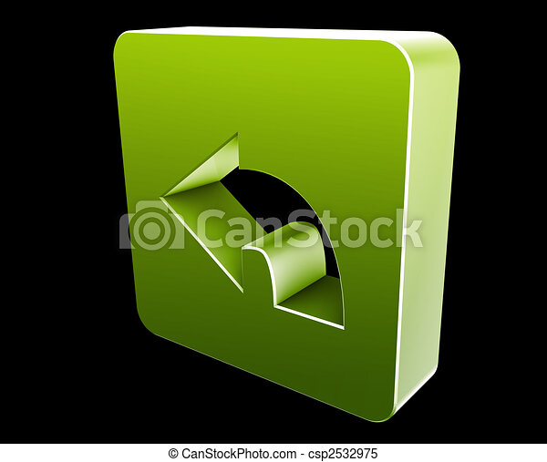 Return navigation icon - csp2532975