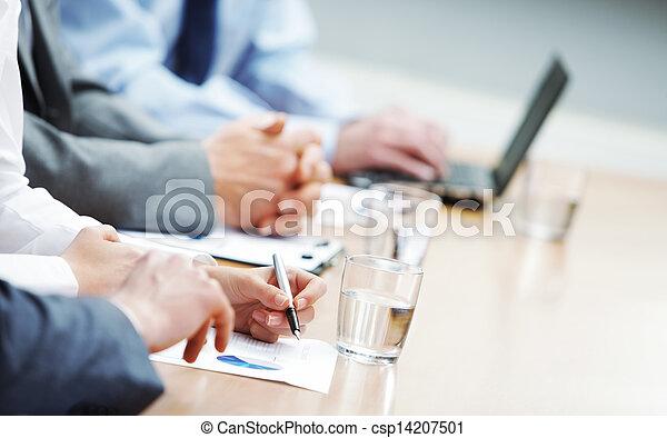 reunião, negócio - csp14207501