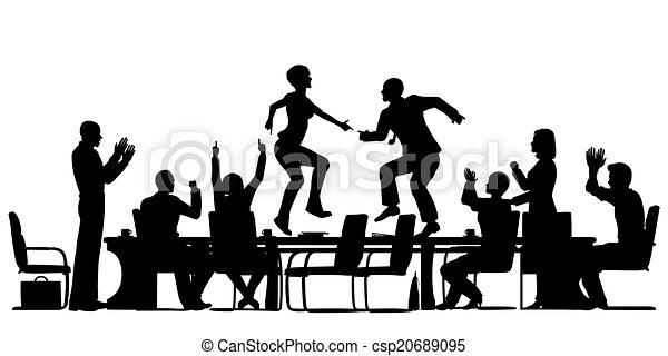 Reunión de celebración - csp20689095