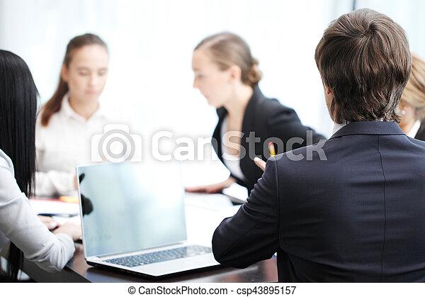 Reunión de negocios - csp43895157