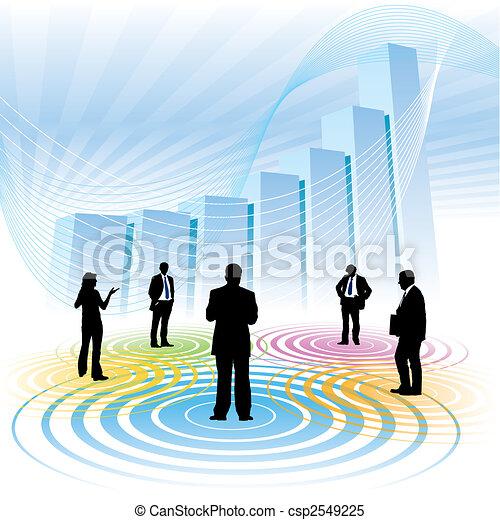 Reunión de negocios - csp2549225