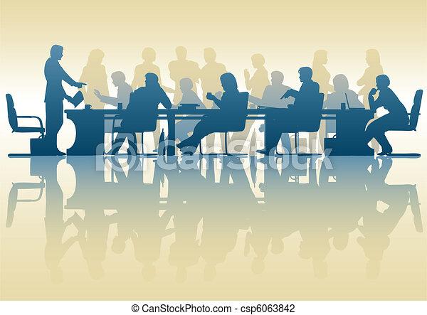Reunión de negocios - csp6063842