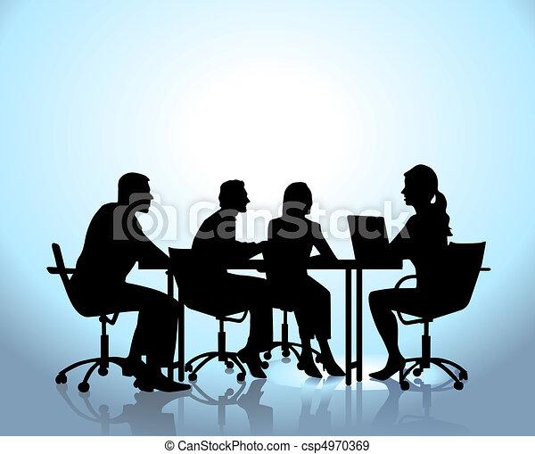 Reunión de equipo - csp4970369