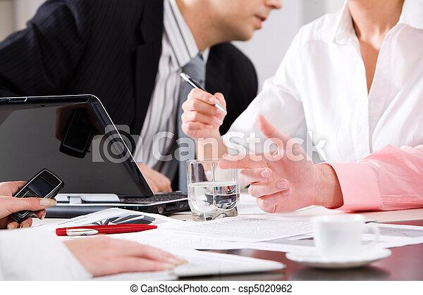Reunión de trabajo - csp5020962