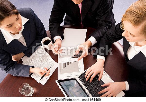 Reunión de trabajo - csp1164469