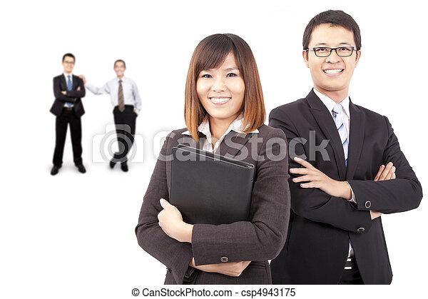 reussite, affaires asiatiques, équipe - csp4943175