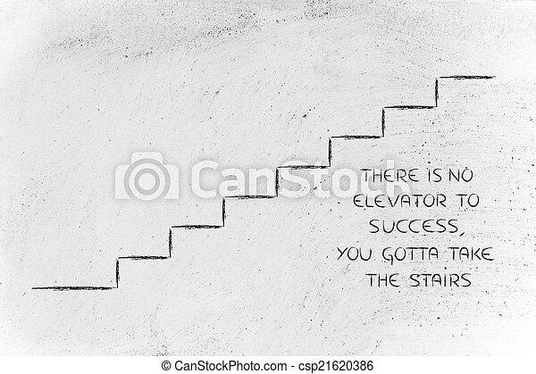 reussite, portée, conception, conceptuel, étapes, représenter - csp21620386