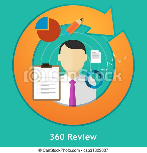review feedback evaluation performance employee human resource assessment - csp31323887