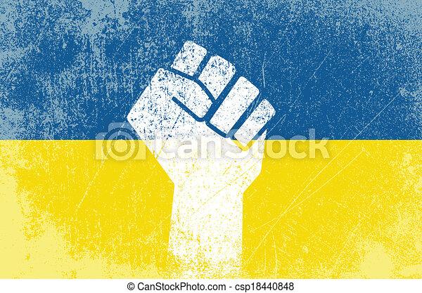 Revolución ucraniana - csp18440848
