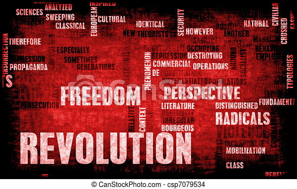 Revolution - csp7079534