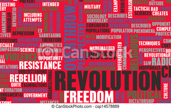 Revolution - csp14578889