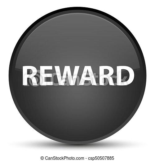 Reward special black round button - csp50507885