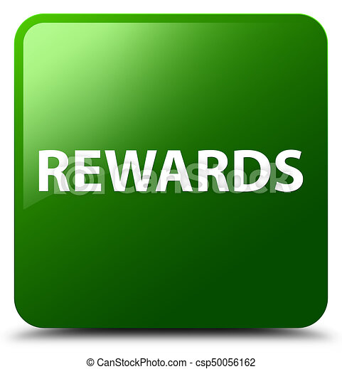 Rewards green square button - csp50056162