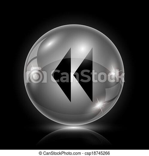 Rewind icon - csp18745266