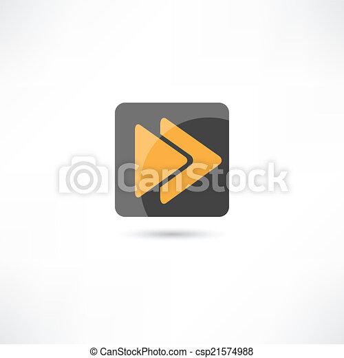 rewind icon - csp21574988