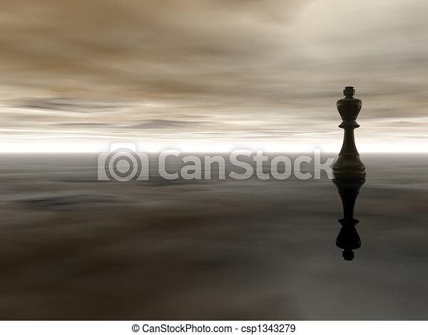 El rey del ajedrez - csp1343279