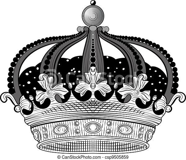 King Crown - csp9505859