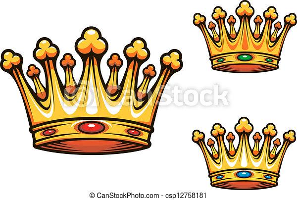 La corona real - csp12758181