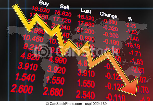 Weltwirtschaftskrise - csp10224189