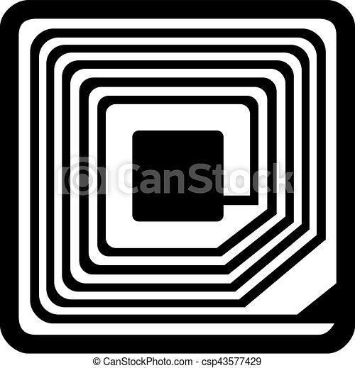 rfid symbol. Black Bedroom Furniture Sets. Home Design Ideas