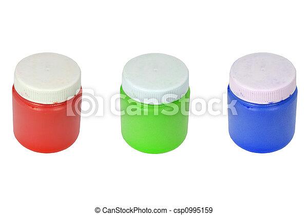RGB - paint cans - csp0995159