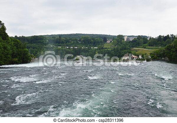 Rhine fall - csp28311396