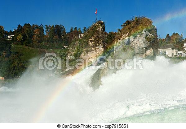 Rhine Falls - csp7915851
