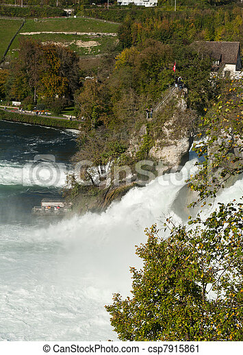 Rhine Falls - csp7915861