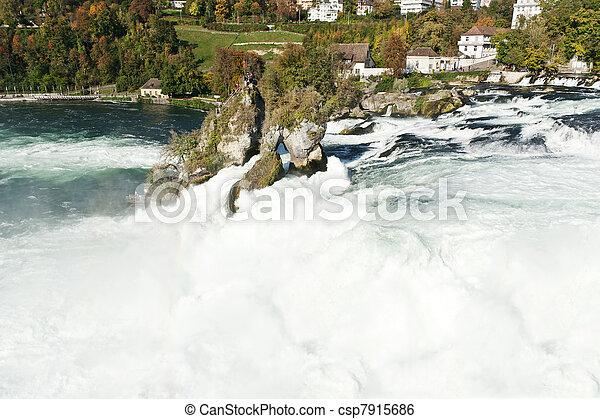 Rhine Falls - csp7915686