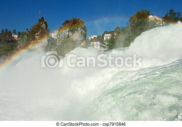 Rhine Falls - csp7915846