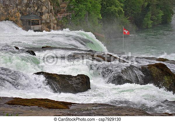 Rhine Falls  - csp7929130