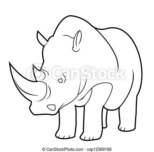 rhino - csp12369186