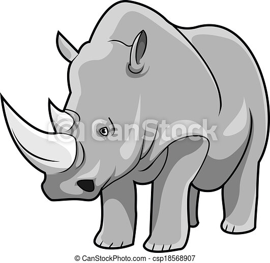 rhinoceros vector clipart search illustration drawings and eps rh canstockphoto com cute rhinoceros clipart rhinocéros clipart