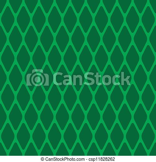 Un rodillo verde sin costura - csp11828262
