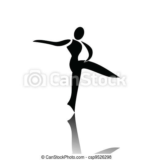 Rhythmic Gymnastics - csp9526298