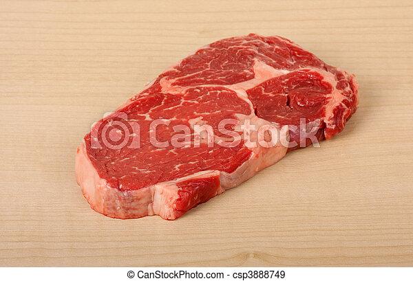 Rib Eye Steak - csp3888749